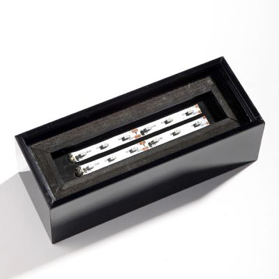 Ahşap Işıklık Adaptörlü (100x60x60mm)