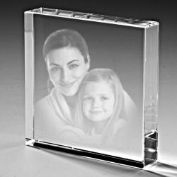 Kişiye Özel Kristal 70x70x25 - Thumbnail