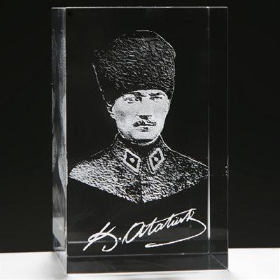 3D Askeri Kalpaklı Atatürk